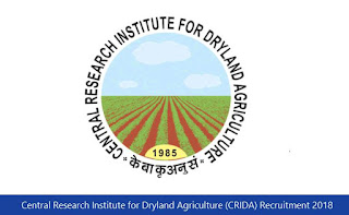 Central Research Institute for Dryland Agriculture (CRIDA) Recruitment 2018