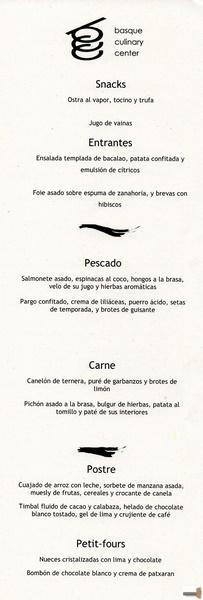 Basque Culinary Center Donostia Menú Paisajes Gastronómicos 9 10 2 015 Cuando Salimos De Casa