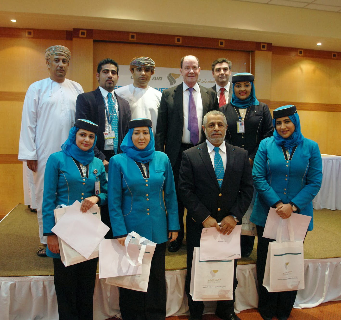 Oman Air celebrates contribution of Service Delivery Unit  to success in 2013