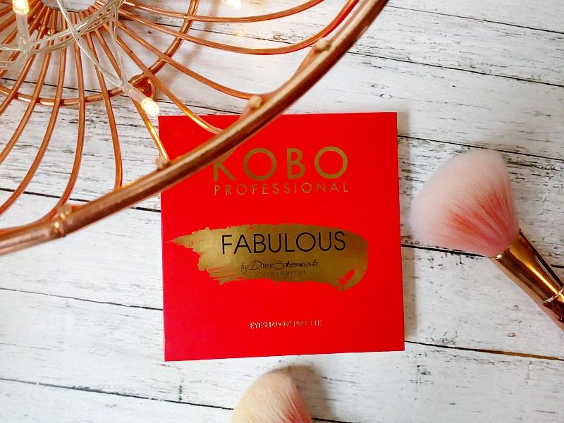 Paletka cieni do powiek | Fabulous KOBO Professional