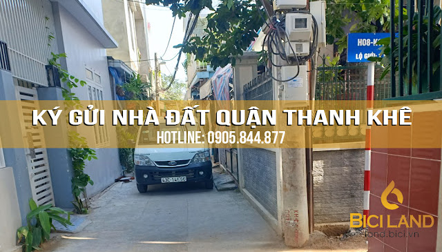 Bán nhà trong kiệt quận Thanh Khê