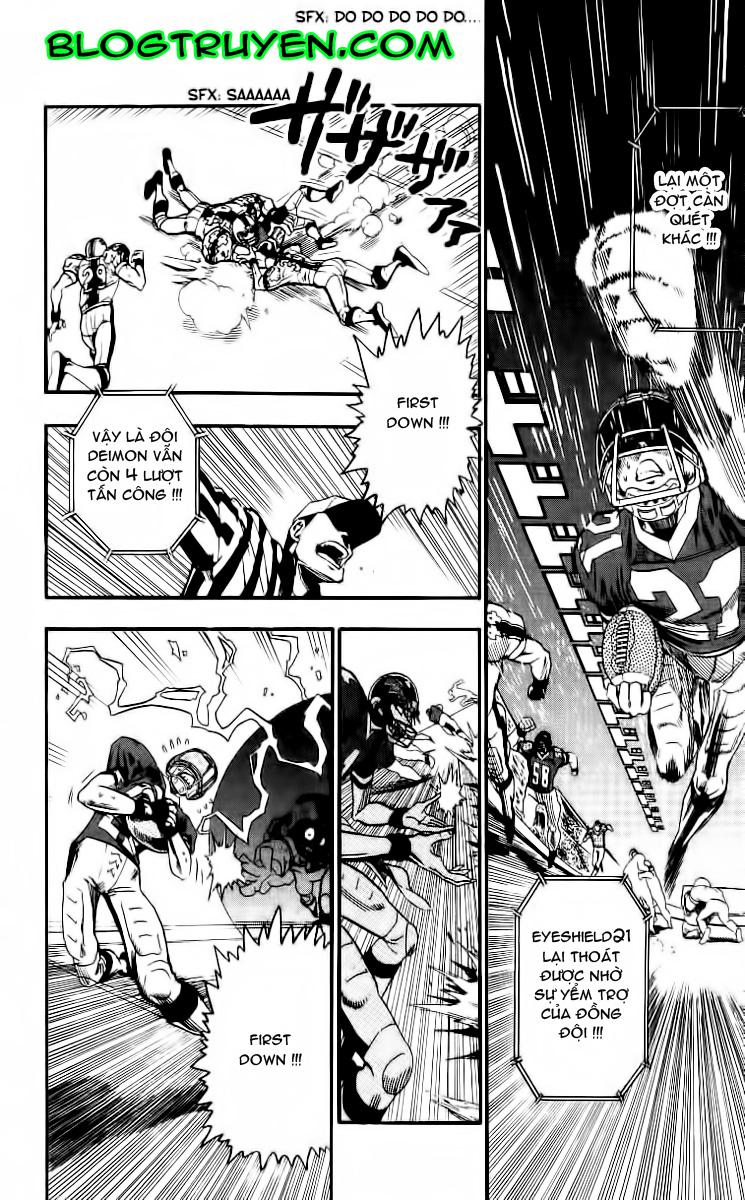 Eyeshield 21 chapter 67 trang 16