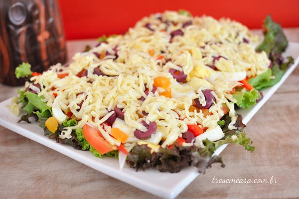 salada fácil receita