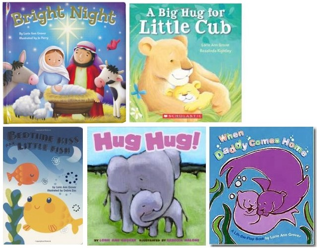 Lorie Ann's Board Books, including Bright Night and Big Hug for Little Cub