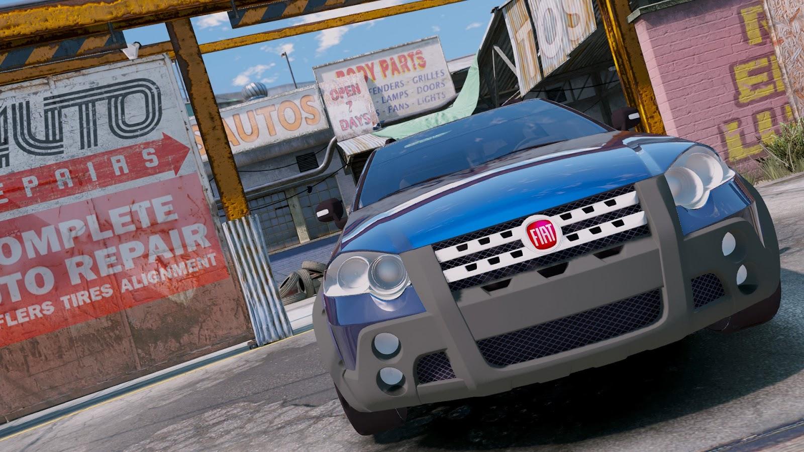 Equipezero21 Strada Adventure Gta V W I P