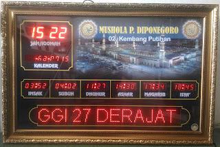 Jadwal Sholat Digital Gorontalo