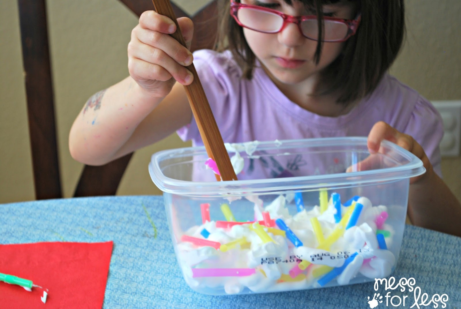 Fine Motor Practice With Straws Get Ready For K Through