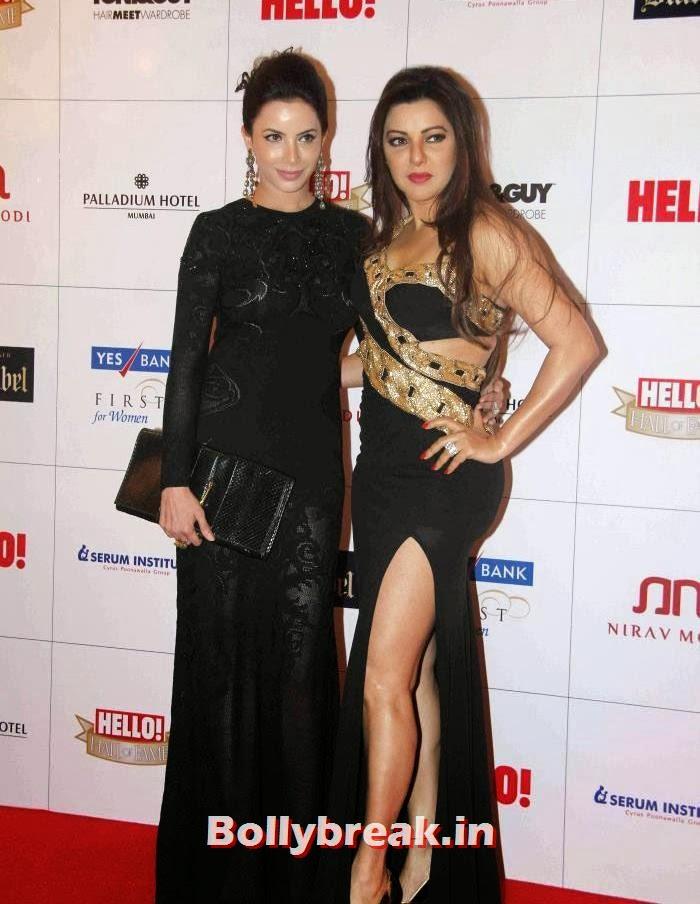 Kaykasshan Patel, Hello Awards 2013 Pics