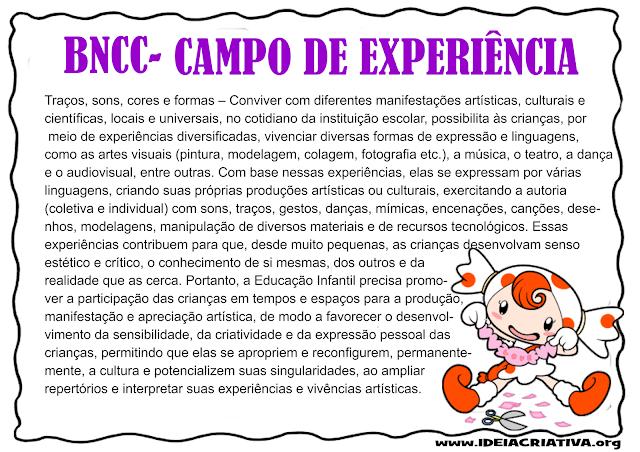 Campos de Experiência Ilustrados
