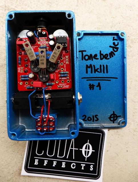 Tonebender MKIII clone Aion Electronics Phobos