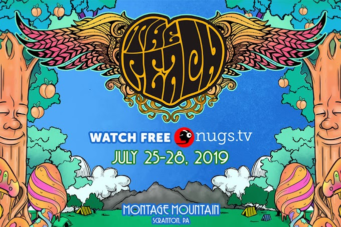 Live streaming from The Peach Music Festival on nugs.tv