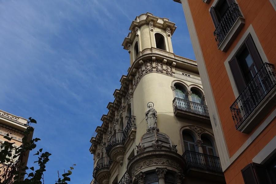 ボケリア広場(Plaça Boqueria)