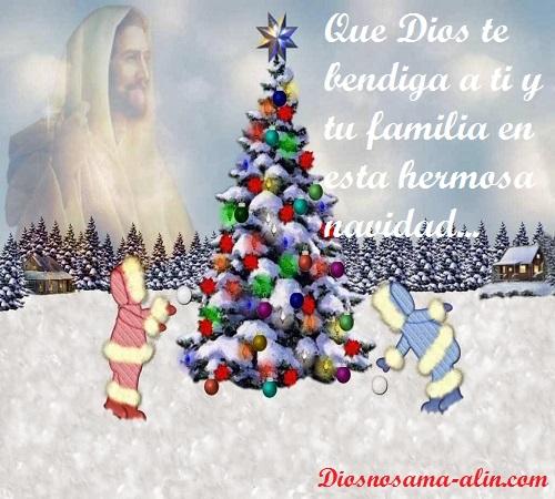 BONITAS POSTALES DE NAVIDEÑAS,( Que Dios te bendiga a ti y tu ...