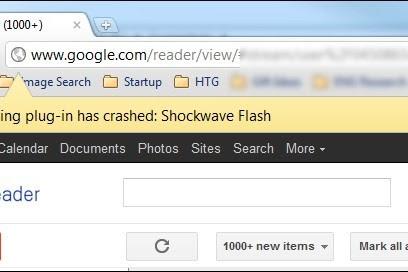 Cara Memperbaiki Shockwave Flash Yang Crash Di Google Chrome