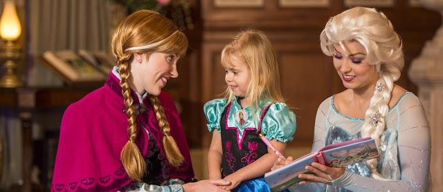 Anna e Elsa de Frozen