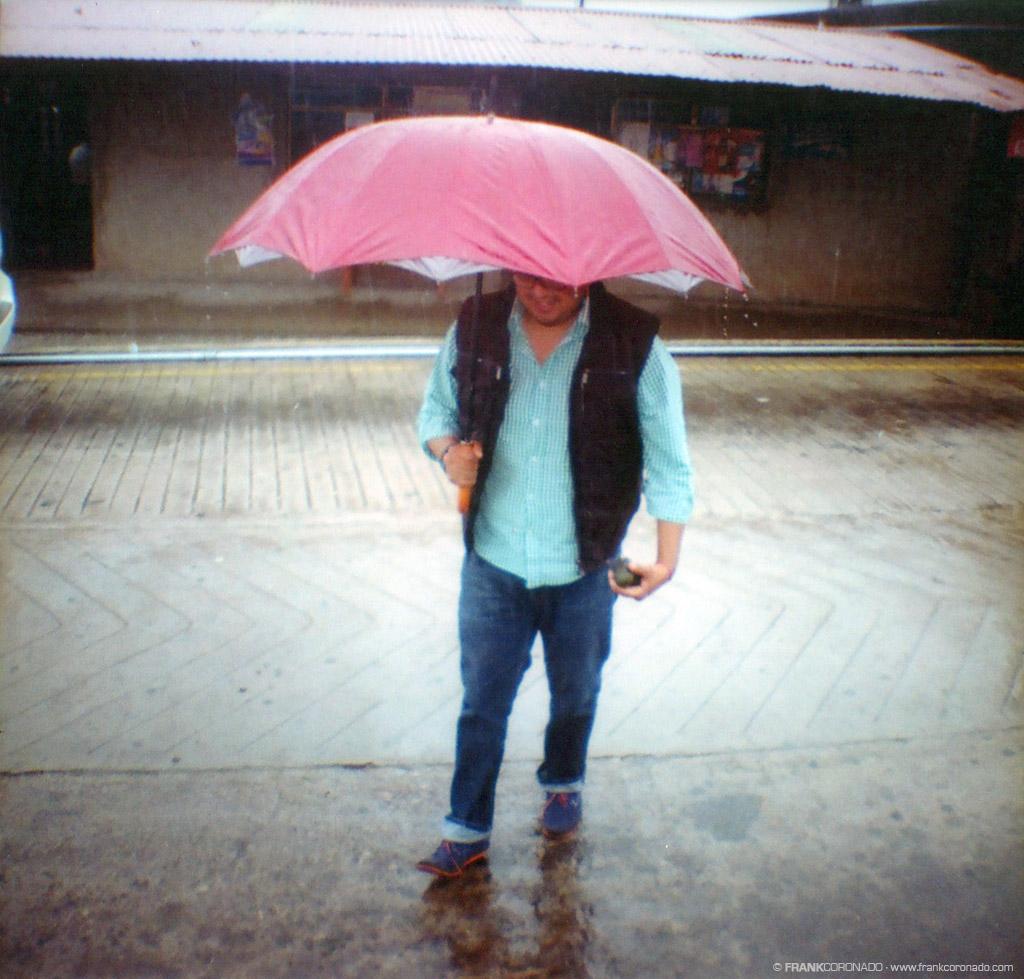 sombrilla para la lluvia