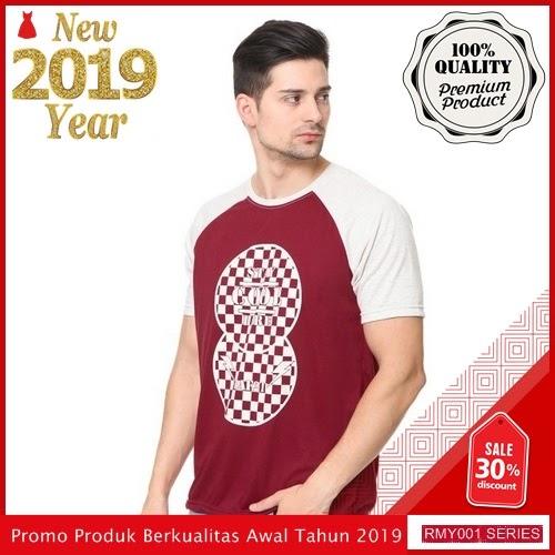 RMY113R49 Raf Kaos Raglan Stay Keren Cool Merah BMGShop