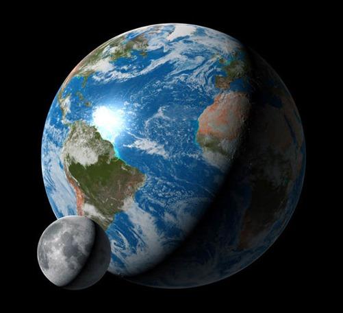 Η διάρκεια της ημέρας θα είναι 25 ώρες σε 200 εκατομμύρια χρόνια λόγω της Σελήνης