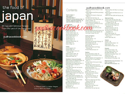 THE FOOD OF JAPAN - 96 Easy And Delicious Recipes From The Land Of The Rising Sun