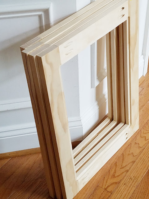 how to build shaker style cabinet doors.