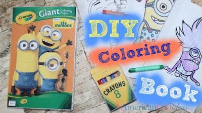 printable coloring book for American Girls