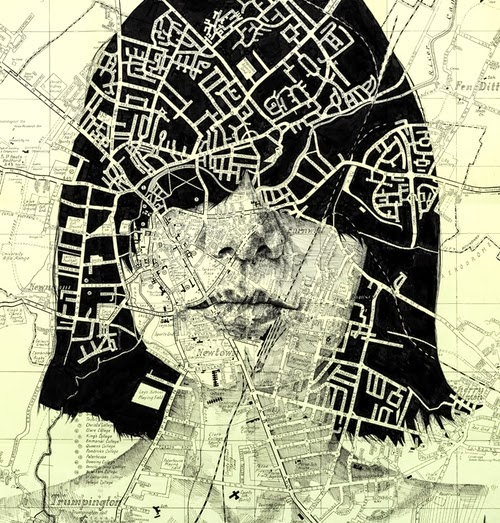 11-Vintage-Street-Map-of-Cambridge-Welsh-Freelance-Artist-Ed-Fairburn-Map-Portraits-www-designstack-co
