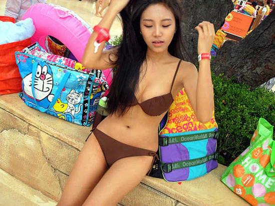 Kim Miso, Mantan Model Majalah Hot Yang Jadi Polisi