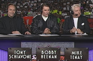 WCW Slamboree 1999 - Iron Mike Tenay, Tony Schiavone, Bobby 'The Brain' Heenan