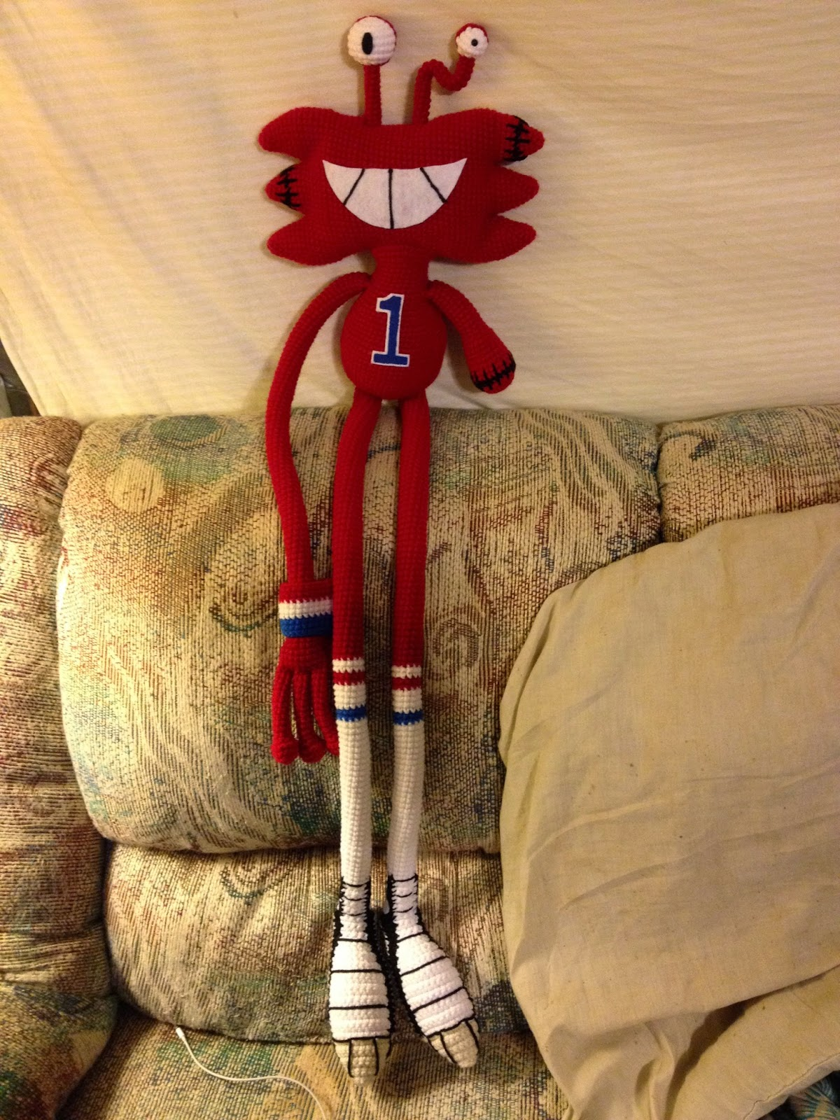 Oh, Yarn It!: Wilt Michaels of Foster\'s Home for Imaginary Friends