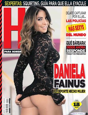 Daniela Fainus - H para Hombres 2017 Marzo (71 Fotos HQ)