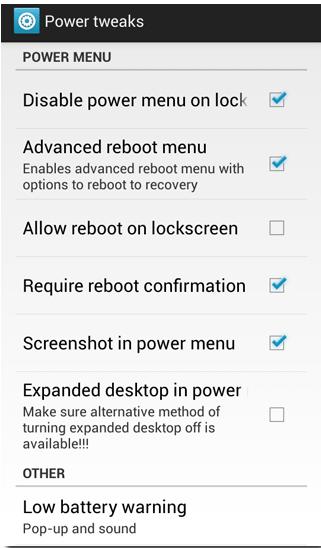 Cara Mudah Menyesuaikan Menu Matikan di Android 3