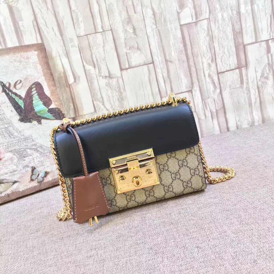 4bc15907f WE Do Love Luxury: GUCCI Padlock small GG shoulder bag Style ...