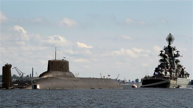 US-led NATO military alliance 'worried' by Russian submarine activity