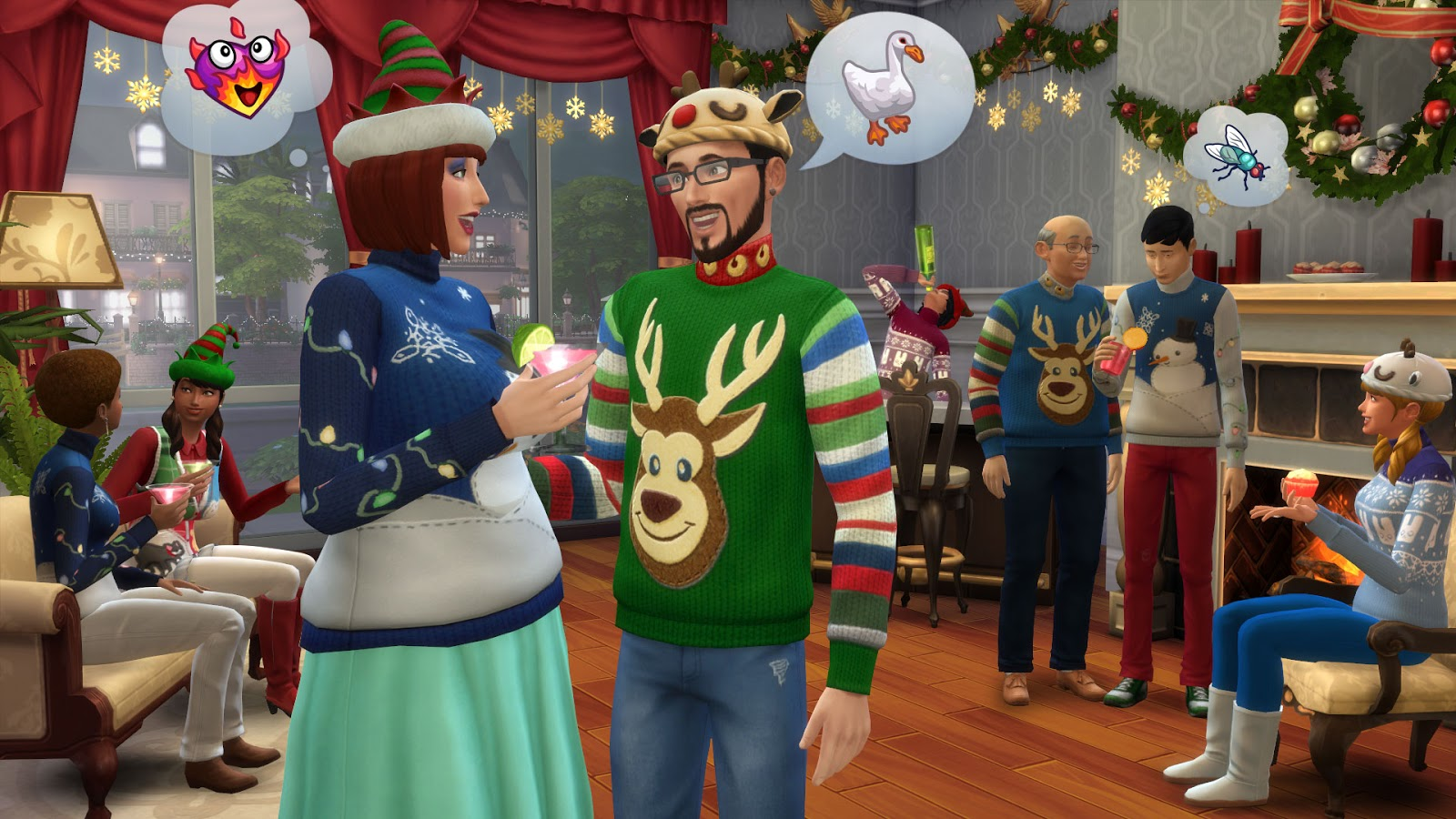 Sims 3 Christmas Tree.Plumbob News The Sims 4 News Celebrate The Holidays With