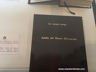 Libros de Antonio Arriaga Ochoa en el Museo Michoacano