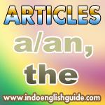 Article (Kata Sandang)