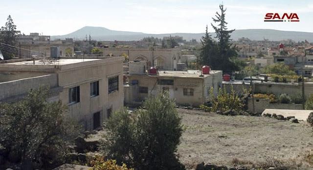 """بالصور""""قرية المنيذرة"""" بالسويداء من أقدم القرى المسكونة في جبل العرب"""