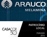 Arauco Melamina te leva pra Casa Cor Paraná 2016