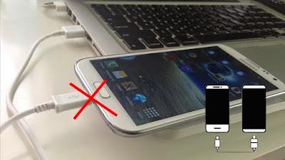 حل مشكلة عدم تعرف الويندوز على هواتف سامسونغ جلاكسي بالرغم من انها تشحن عبر منفذ الايسبي