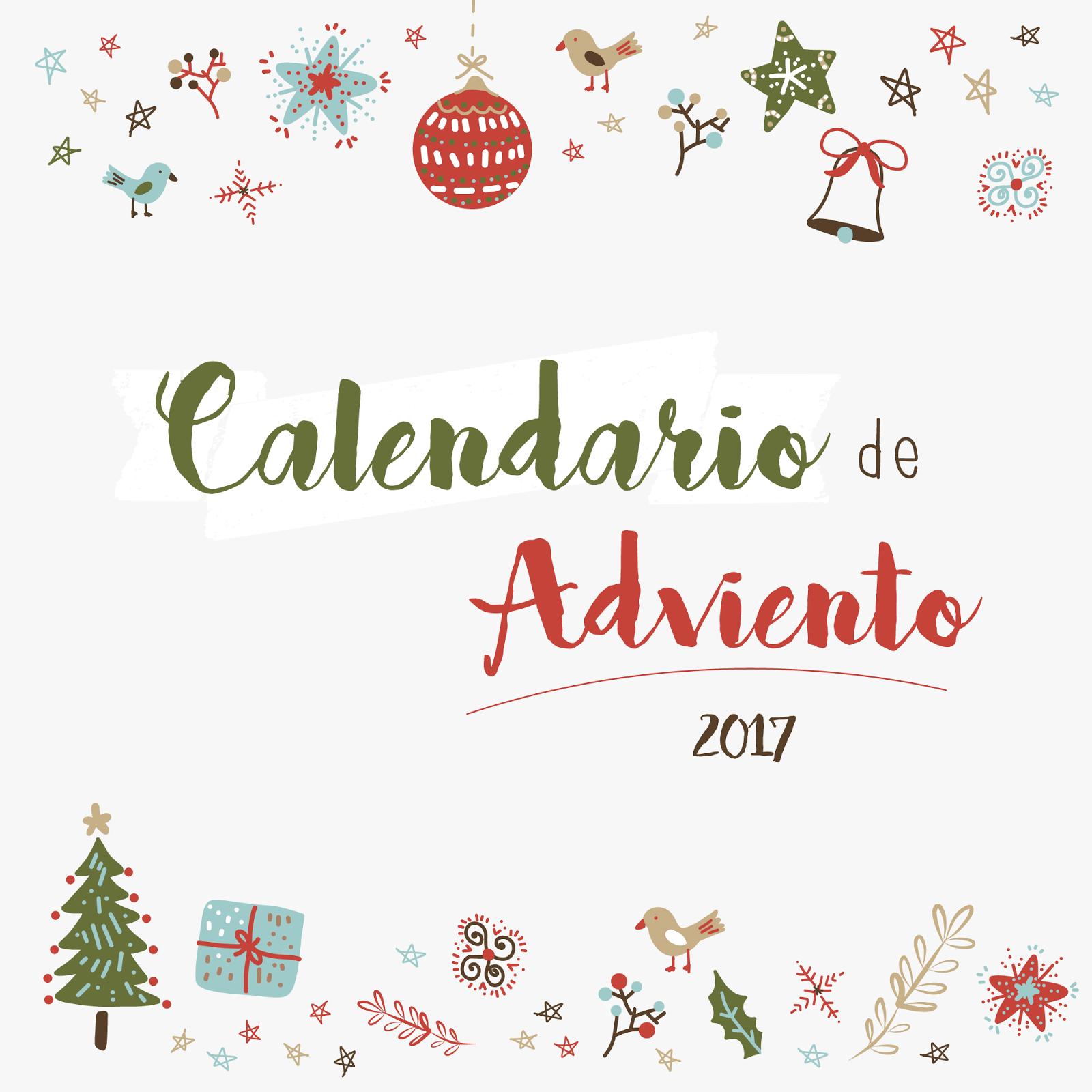 Actitud y alegr a for Calendario adviento 2017