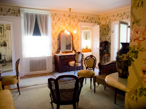 Room where King and Queen of England slept at Springwood - Hyde Park NY