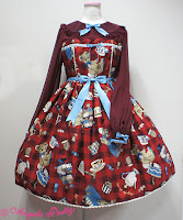 mintyfrills, kawaii, cute, lolita fashion, sweet, bear, dress,