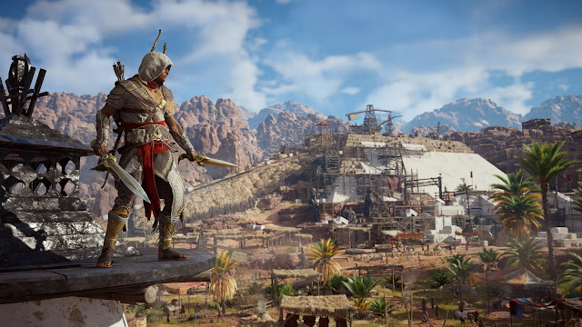 Detallada la nueva actualización de Assassin's Creed Origins