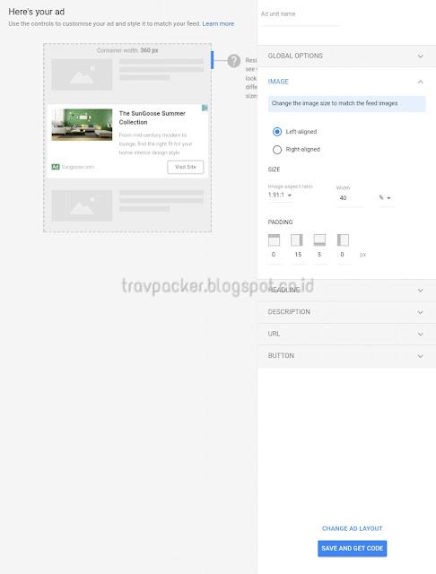 Cara Memasang iklan native ads, cara mendapatkan iklan native ads, informasi terbaru dari iklan native ads