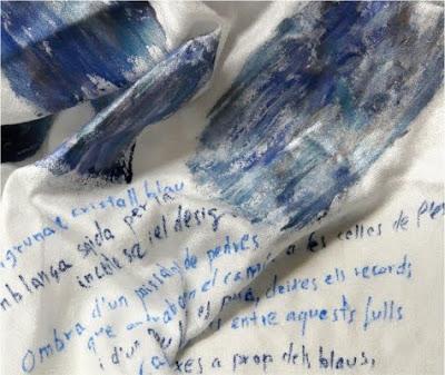 Sentir-se engruna de cristall blau...