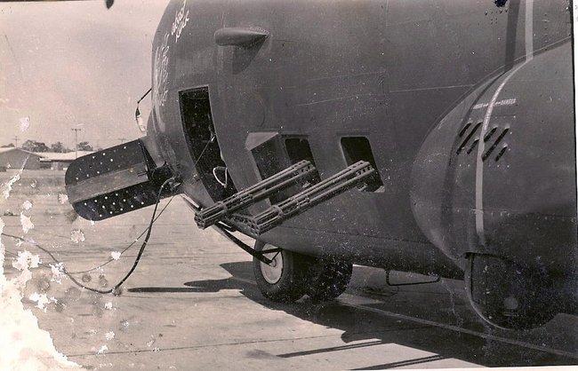 Пулеметы из самолета
