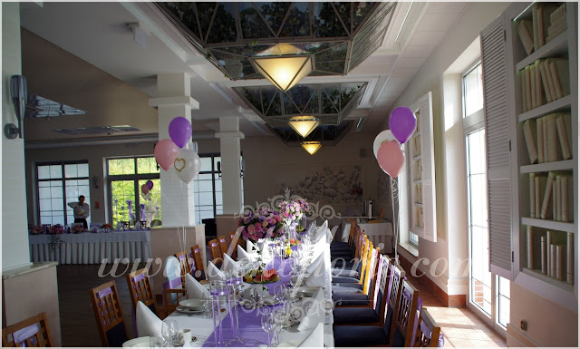wesele Magiczny Zakątek Raszowa dekoracja kwiatowa