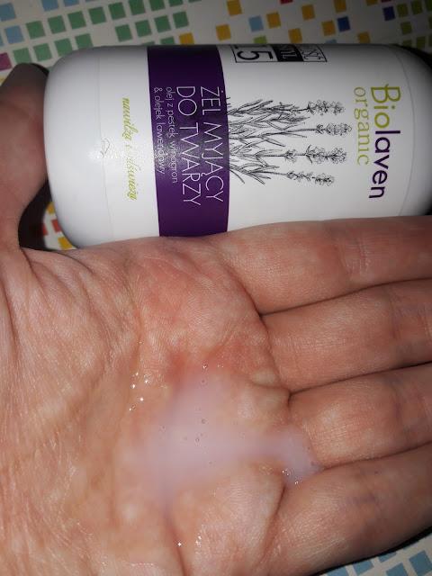 Biolaven żel myjący do twarzy