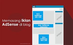 Cara Memasang Iklan Google AdSense di Atas, Tengah, dan Bawah Artikel
