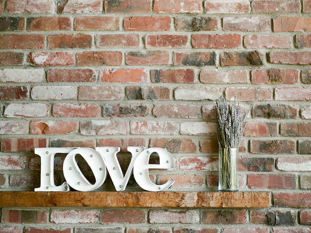 El Cerrito, Hillside, Community Church, love sign, wedding hall, fine art photography